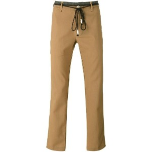 Pence - rope belt trousers - men - バージンウール - 46