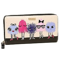 (ケイトスペード) kate spade ケイトスペード 財布 KATE SPADE PWRU5316 974 IMAGINATION MONSTER PARTY LACEY 長財布 MULTI ...