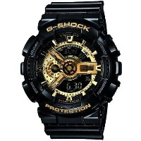 CASIO G-SHOCK GA-110GB-1ADR 並行輸入品 (日本型番 GA-110GB-1AJF ) Black × Gold Series(ブラック×ゴー...