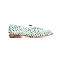 Fratelli Rossetti - perforated slippers - women - レザー - 37