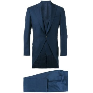 Canali - three piece dinner suit - men - キュプロ/ウール - 52