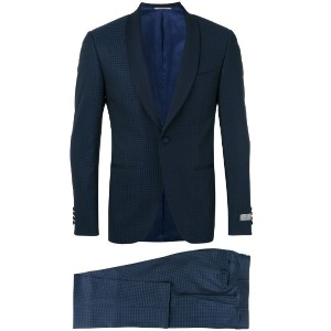 Canali - two piece dinner suit - men - シルク/キュプロ/ウール - 54