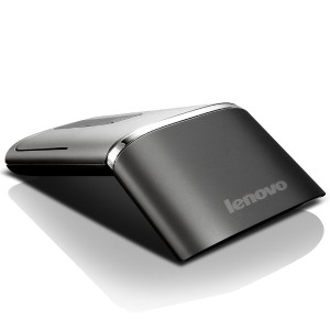 Lenovo N700 Wireless and Bluetooth Mouse and Laser Pointer Black Compact Portable Dual functions ...