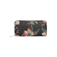 ゲス レディース アクセサリー 財布【Guess Isabeau floral zip around】Multi-Coloured