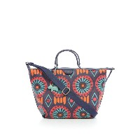 ラドリー レディース バッグ トートバッグ【Radley Summer tribe medium ziptop multiway bag】Navy