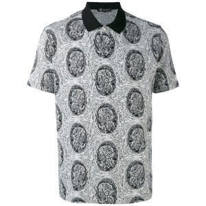 Versace - logo polo shirt - men - コットン - S
