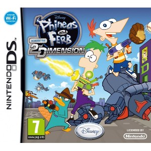 Phineas and Ferb Across the 2nd Dimension (DS) (輸入版)