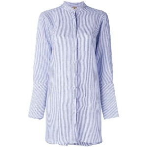 Fay - long sleeved shirt - women - リネン - XXL