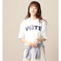 <VOTE MAKE NEW CLOTHES>ビッグTシャツ【ビューティアンドユース ユナイテッドアローズ/BEAUTY&YOUTH UNITED ARROWS Tシャツ・カットソー】