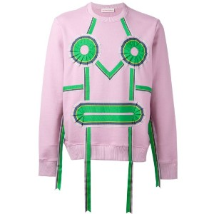 Walter Van Beirendonck - ribbon face sweatshirt - men - コットン - M