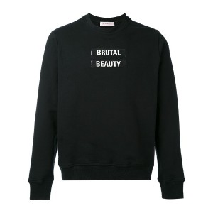 Walter Van Beirendonck - statement sweatshirt - men - コットン - M