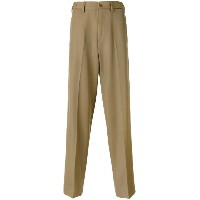 Stella McCartney - straight leg trousers - men - ビスコース/ウール - 44