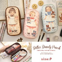[Made In Korea] Afrocat Paper Roll Mate Better Beauty Pouch P Cosmetics Make Up Pencils Case Bag