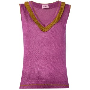 D'enia - knitted tank top - women - ナイロン/ポリエステル/アセテート - L