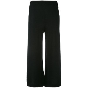 Le Kasha - cropped knit trousers - women - カシミア - S