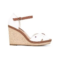 Tommy Hilfiger - textile wedges - women - コットン/rubber - 41