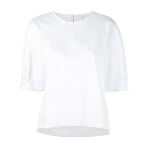 Tibi - boatneck top - women - コットン - M