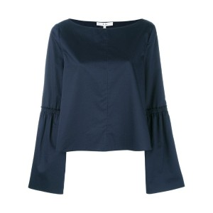 Tibi - bell sleeve top - women - コットン - 2