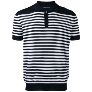 Ermanno Scervino - striped polo shirt - men - コットン - 46