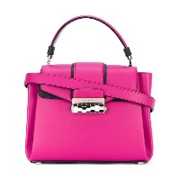 Bulgari - fold-over closure tote - women - カーフレザー - ワンサイズ