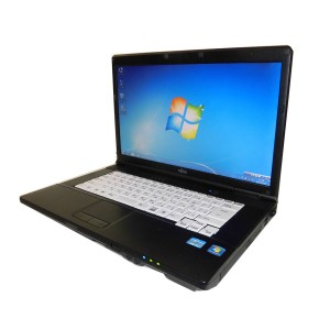 中古ノートパソコン 送料無料 富士通 LIFEBOOK A572/ECore i5-3360M 2.8GHz/4GB/250GB/DVD-ROMHDMI/USB3.0/Windows7
