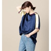 <VOTE MAKE NEW CLOTHES>サテンTシャツ【ビューティアンドユース ユナイテッドアローズ/BEAUTY&YOUTH UNITED ARROWS Tシャツ・カットソー】