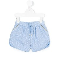 Simple Kids - embroidery shorts - kids - コットン/レーヨン - 6歳