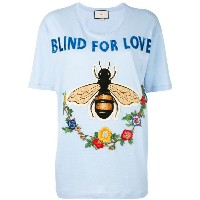 Gucci - Blind For Love Tシャツ - women - コットン - S