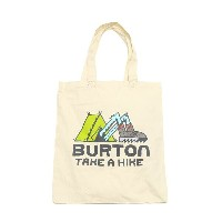 BURTON SIMPLE TOTE (バートン シンプル トート)CANVAS TAKE A HIKE【トートバッグ】17SP-I