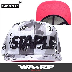 ステイプル STAPLE CONCRETE SNAPBACK(H.GRAY)