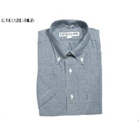INDIVIDUALIZED SHIRTS(インディビジュアライズド シャツ)/SHORT SLEEVE STANDARD FIT FULLOPEN MIDDLEBAND HERITAGE...
