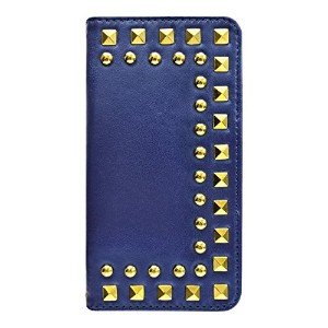 【iPhone6s/6 ケース】Studded Diary Navy for iPhone6s/6