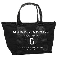 MARC JACOBS バッグ マークジェイコブス M0011222 001 NEW LOGO TOTE SMALL TOTE トートバッグ BLACK