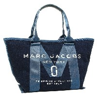 MARC JACOBS バッグ マークジェイコブス M0011124 423 NEW LOGO TOTE DENIM SMALL TOTE トートバッグ DENIM