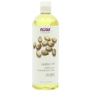 NOW Solutions Castor Oil 100 % Pure 16 ounce