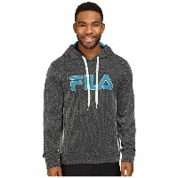 フィラ Fila メンズ トップス パーカー【Blitz Hoodie】Black/High-Rise/Turkish Teal