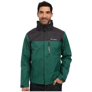 コロンビア Columbia メンズ アウター コート【Pouration Jacket】Wildwood Green/Shark