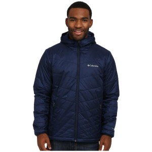 コロンビア Columbia メンズ アウター コート【Mighty Light Hooded Jacket】Collegiate Navy