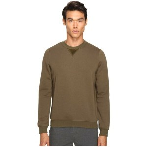 アンソニー トーマス メリロー ATM Anthony Thomas Melillo メンズ トップス トレーナー【Crew Neck Sweatshirt w/ Elbow Patches】Army