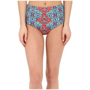 サハ SAHA レディース 水着 ボトムのみ【Juno High Waist Reversible Bikini Bottom】Light Mint/Blue/Red Geometrical...