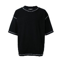 monkey time - exposed seam T-shirt - men - コットン - M