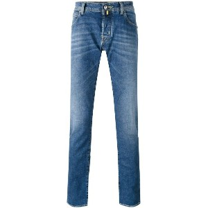 Jacob Cohen - denim straight-leg jeans - men - コットン/スパンデックス - 32