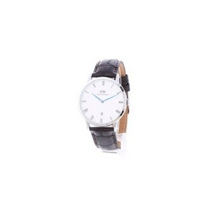 【SALE 40%OFF】ダニエル ウェリントン Daniel Wellington Dapper York Silver 38mm (D/BROWN)