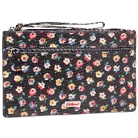 キャスキッドソン ポーチ CATH KIDSTON 595667 CURRENCY ZIP PURSE ポーチ CHARCOAL