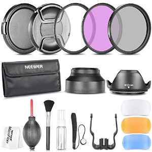 Neewer 58MM Professional Accessory Kit for CANON EOS Rebel T5i T4i T3i T3 T2i T1i