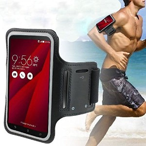 DFV mobile - Professional Cover Neoprene Waterproof Armband Light Reflecting Wraparound Sport with...