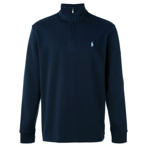 Polo Ralph Lauren - zipped collar jumper - men - コットン - M