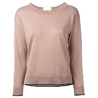 Max Mara Studio - Nambo top - women - シルク/ウール - M