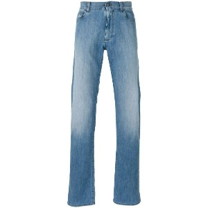 Canali - regular jeans - men - コットン/Elastodiene/ポリエステル - 48