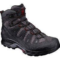 サロモン Salomon メンズ ハイキング シューズ・靴【Quest Prime GTX Hiking Boot】Magnet/Black/Red Dalhia